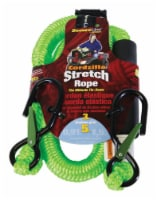 Cordzilla Secureline Green Bungee Cord 36 in. L x 0.31 in. 400 lb. 1 pk - Case Of: 1; Each - Count of: 1