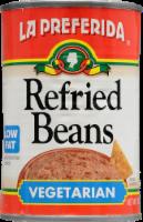 La Preferida Vegetarian Low Fat Refried Beans - 16 oz