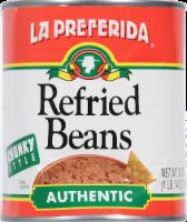 La Preferida Authentic Chunky Style Refried Beans - 30 oz