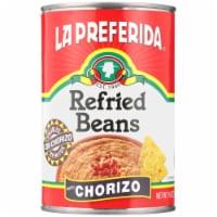 La Preferida Refried Beans with Chorizo - 16 oz
