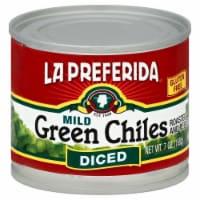 La Preferida Mild Diced Green Chiles - 7 oz