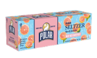 Polar Ruby Red Grapefruit Seltzer