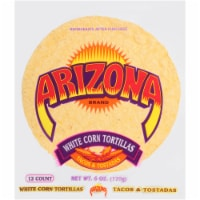 AriZona White Corn Tortillas 12 Count