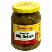 Farman's Genuine Dill Relish