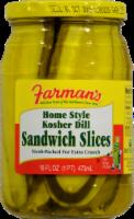 Farman's Kosher Dill Sandwich Slicers