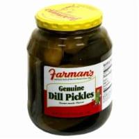 Farman's Genuine Dill Pickles