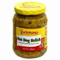 Farman's Hot Dog Relish