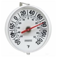Taylor 90100-000-000 5.25 in. Diameter Dial Thermometer - 1