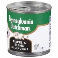 Pennsylvania Dutchman Mushroom Stems and Pieces - 4 oz