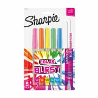 Sharpie® Ultra Fine Color Burst Permanent Markers - 5 pk