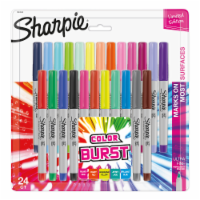 Sharpie Ultra Fine Point Color Burst Permanent Markers