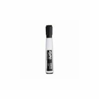 Expo Magnetic Dry Erase Chisel Marker With Eraser 4/Pkg-Black - 1