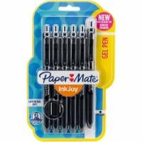 Paper Mate Inkjoy Gel Pens .7mm 6/Pkg-Black - 1