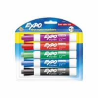 Expo® Chisel Tip Dry Erase Markers