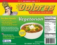 Dolores™ Vegetarian Chili Brick - 16 oz