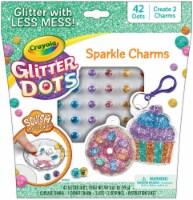 Crayola Glitter Dots Kit-Sparkle Charms Bakery - 1