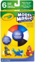 Crayola Model Magic .5oz 6/Pkg-Primary - 1