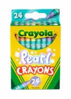 Crayola® Pearl Crayons - 24 pk