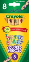 Crayola Write Start Toddlers' Colored Pencils - 8 pk