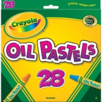 Crayola Llc Formerly Binney & Smith Bin524628 Crayola Oil Pastels 28 Color Set