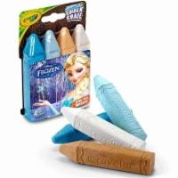Disneys Frozen Craylola Washable Sidewalk Chalk | 4 Pack