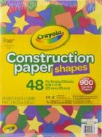 Crayola Construction Paper Shapes 9 X12 -48 Sheets - 1