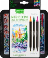 Crayola Dual-Tip Ultra-Fine Brush and Detail Markers