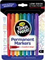 Crayola Take Note! Permanent Markers