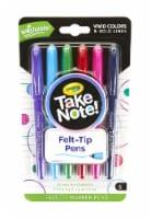 Crayola Take Note! Felt-Tip Marker Pens