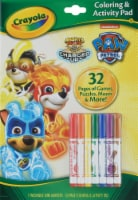 Crayola Paw Patrol Coloring & Activity Pad