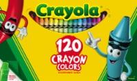 Crayola Crayons With Bonus Sharpener - Assorted - 120 pk
