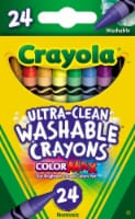 Crayola Washable Crayons - 24 Count