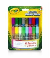 Crayola® Pipsqueaks Washable Glitter Glue - 16 pk