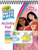 Crayola Color Wonder Mess Free Coloring Disney Princess Activity Pad