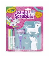 Crayola Scribble Scrubbie Pets Washable Figures 2 Pack