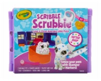 Crayola Scribble Scrubbie Pet Tattoo Shop Activity