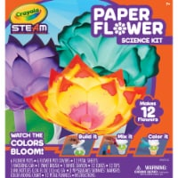 Crayola Steam Paper Flower Science Kit