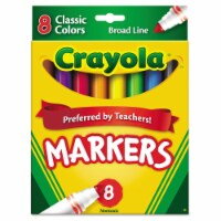 Crayola Broad Line Markers - 10 pc