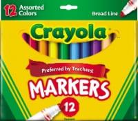 Crayola® Broad Line Markers - 12 pk