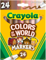 Crayola Markers - Colors of the World