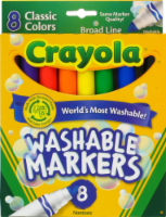 Crayola Broad Line Washable Markers