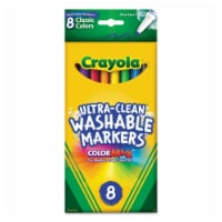 Crayola Washable Thin Line Markers - 8 Piece