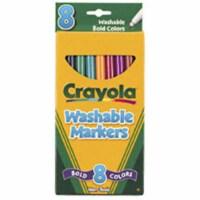 Crayola Llc Formerly Binney & Smith Bin7836 Washable Bold Colors-Marker Thin-8