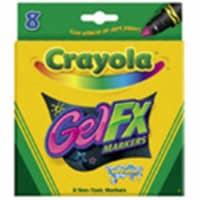 Crayola Gel Washable Markers -Assorted Colors 8/Pkg - 1