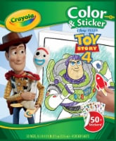 Crayola Toy Story 4 Color and Sticker Book