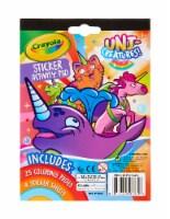 Crayola Uni-Creatures Sticker Activity Pad