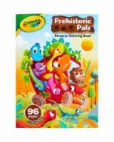 Crayola Prehistoric Pals Dinosaur Coloring Book