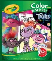 Crayola Trolls World Tour Color & Sticker Pack