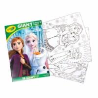 Crayola Frozen II Giant Coloring Book