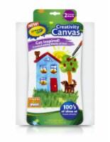Crayola Creativity Canvas Boards - White